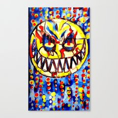 smiley face & the T6 Canvas Print