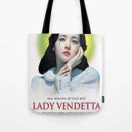 Lady Vendetta Tote Bag