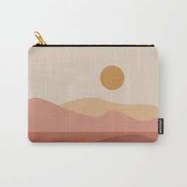 Geometric Landscape 23A Carry-All Pouch