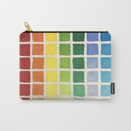 Rainbow Swatch by Diane Bleck Carry-All Pouch