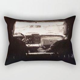 Supernatural: Black & White Backseat Rectangular Pillow