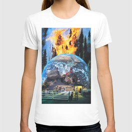 They bought a ticket to watch the world burn T-shirt