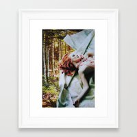 sleep Framed Art Prints featuring Sleep by John Turck