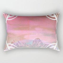 Deco Desert Dreams Rectangular Pillow