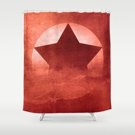 Star Composition II Shower Curtain