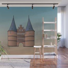 Holstentor Lübeck (FRG) Wall Mural