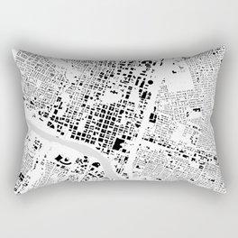 Austin building map Rectangular Pillow