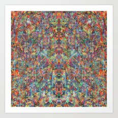 Acid Rain (Reflected) Art Print