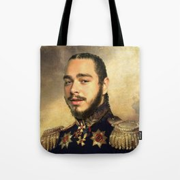Post Classical painting Tote Bag