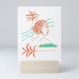 Yearning for summer Mini Art Print