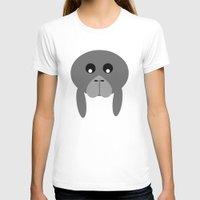 fat T-shirts featuring Fat Manatee by Bunhugger Design