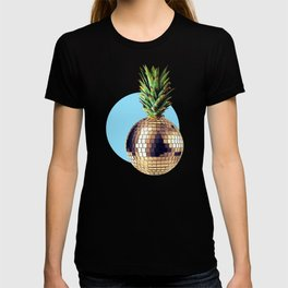 Ananas party (pineapple) blue version T-shirt