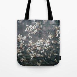 Wild Cherry Blossom Tote Bag