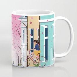 Aldstadt, Bonn ft. Cherry Blossom Coffee Mug