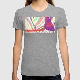 flowing heart T-shirt
