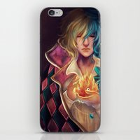 howl iPhone & iPod Skins featuring Howl by Niniel
