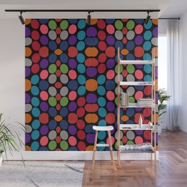 So Much Color Abstract Shapes Multi Wall Mural