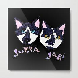 JUKKA & JARI - Dark Metal Print