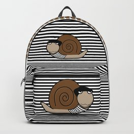 French Snail ~ Escargot Backpack