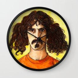 Frank Zappa Wall Clock