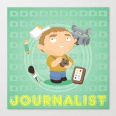 Journalist Canvas Print