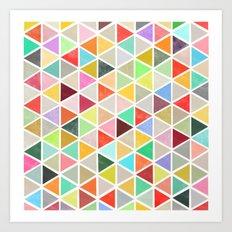 unfolding 3 Art Print