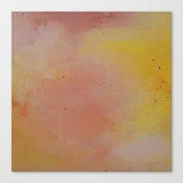 Sunset at Dusk // Watercolour Wash Canvas Print