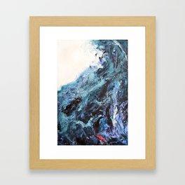 The First Wave Framed Art Print
