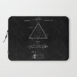 Billiard Triangle Patent 2 Laptop Sleeve