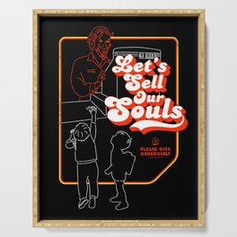 Let's Sell Our Souls / Black Magic / Devil Serving Tray