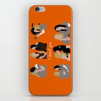 oitnb iPhone & iPod Skins featuring I Heart You OITNB by Vauseman Addict