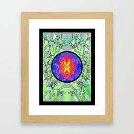 Orb of Life Framed Art Print