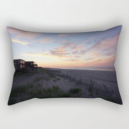 Fire Island Sunset Rectangular Pillow
