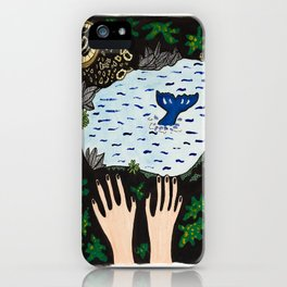 Tidepool Life iPhone Case