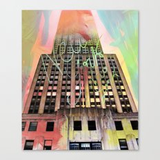 Empire State Of Art  Canvas Print
