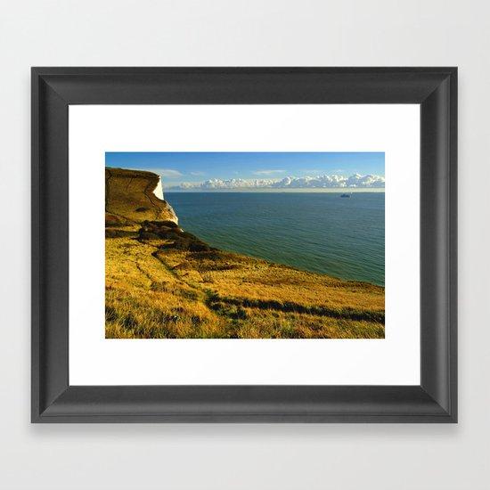 Drop Off Dover Framed Art Print