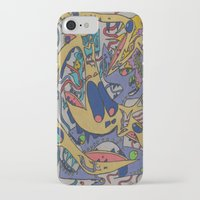 bookworm iPhone & iPod Cases featuring Bookworm by Gregree