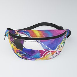 Watercolor my Jimmy Fanny Pack