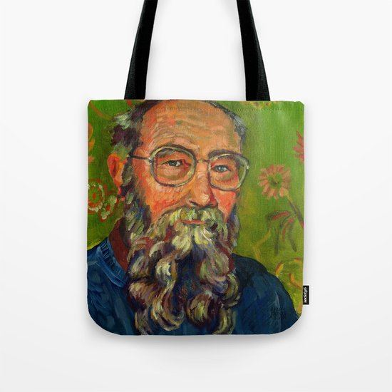 David K Lewis Tote Bag