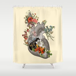Nature's Heart Shower Curtain