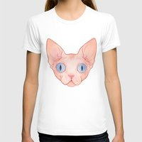 sphynx T-shirts featuring Sphynx by Delia Evin