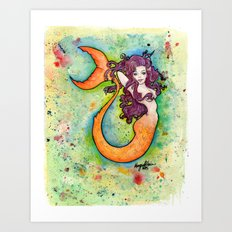 Clementine Art Print