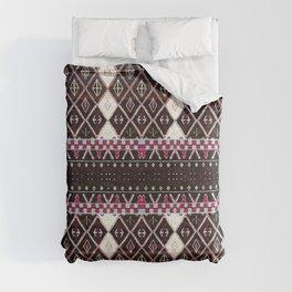 Oriental Heritage Colored Black Berber Moroccan Style Comforters