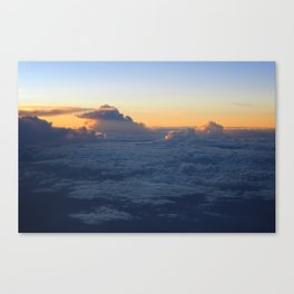 Cloud Mountains • V01 Canvas Print