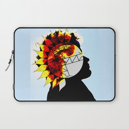 Walking With The Sun Laptop Sleeve