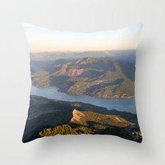 Soaring At Dawn II Throw Pillow