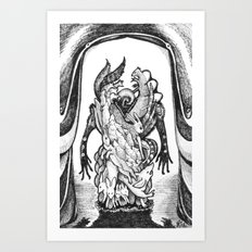 Haunted Clothing- The Small Creatures Art Print