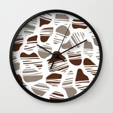 Okapi Animal Print [Native] Wall Clock