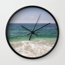 Pacific Waters Wall Clock
