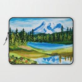 Mt. Rainier Reflections Lake Laptop Sleeve